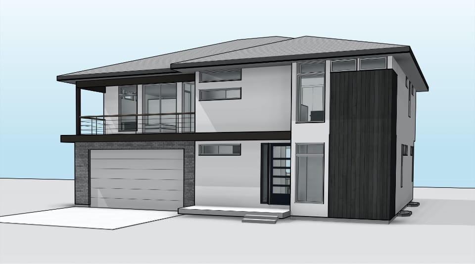 Bristol home rendering by Next Level Homes
