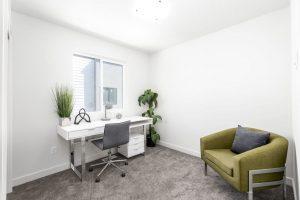 Granite Lofts bedroom/office