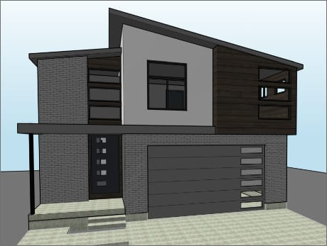 Essex Home Rendering from the front