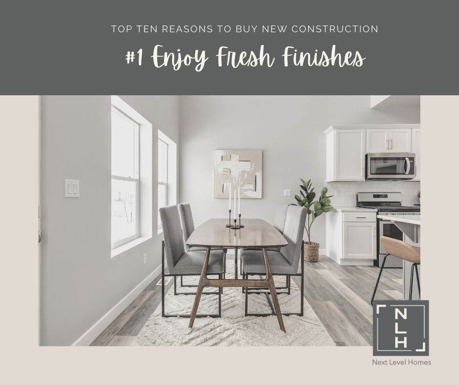 #1 Reasons to Buy New Construction