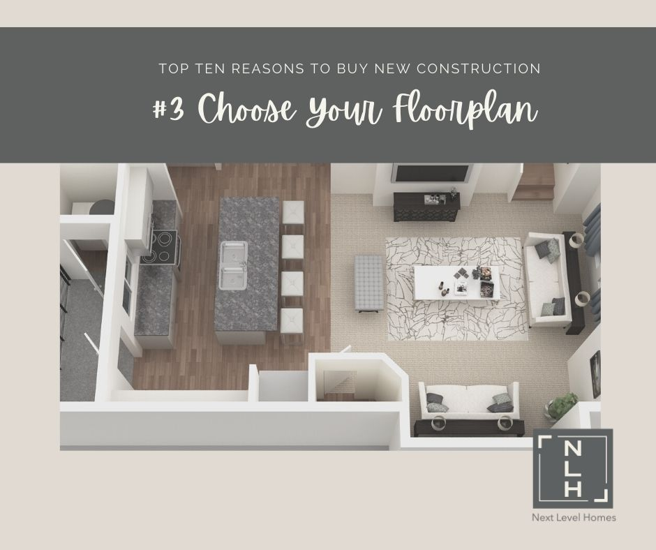 #3 Reasons to Buy New Construction