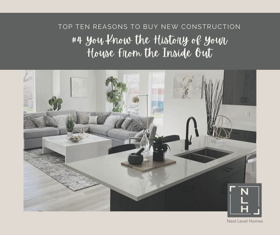 #4 Reasons to Buy New Construction