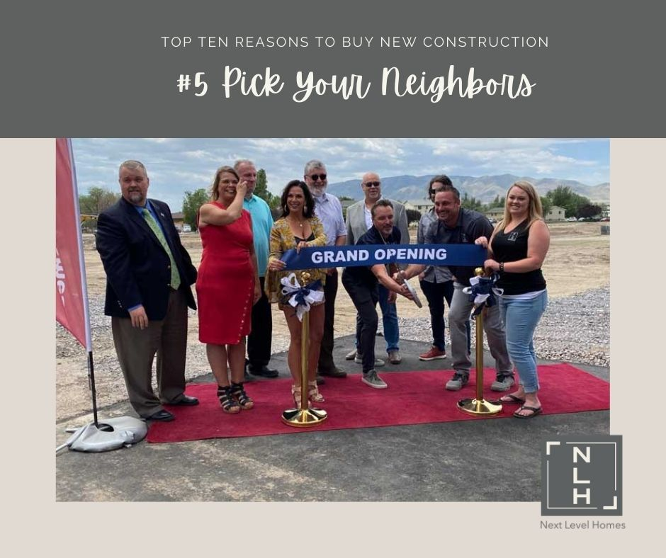 #5 Reasons to Buy New Construction