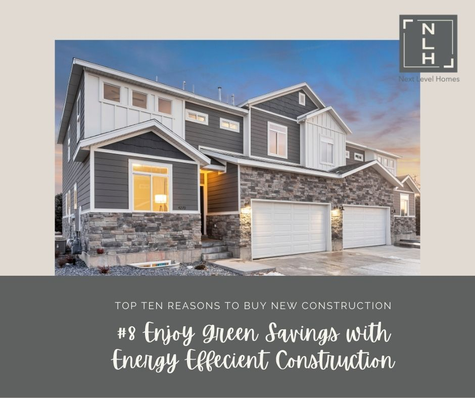 #8 Reasons to Buy New Construction