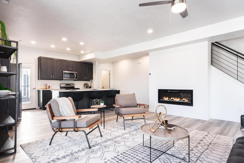 Granite Lofts Kitchen Living