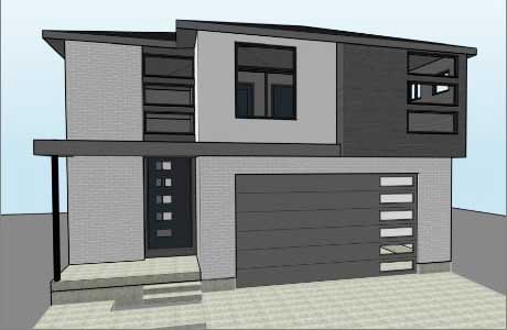 Next Level Homes Rendering