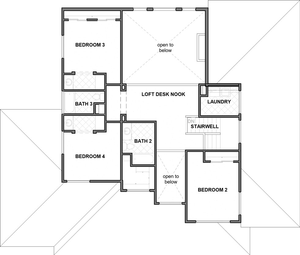 Yorkshire Second Floor Plan