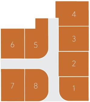 Sydnee Court Plat Map
