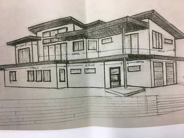 Silverhawk Sketch of house plan