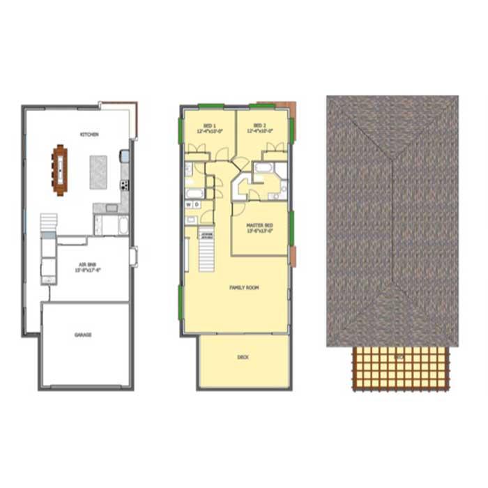 Scott Ave Floor Plan