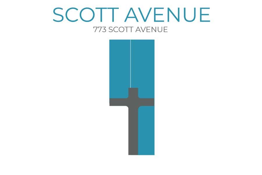 Scott Ave Plat Map