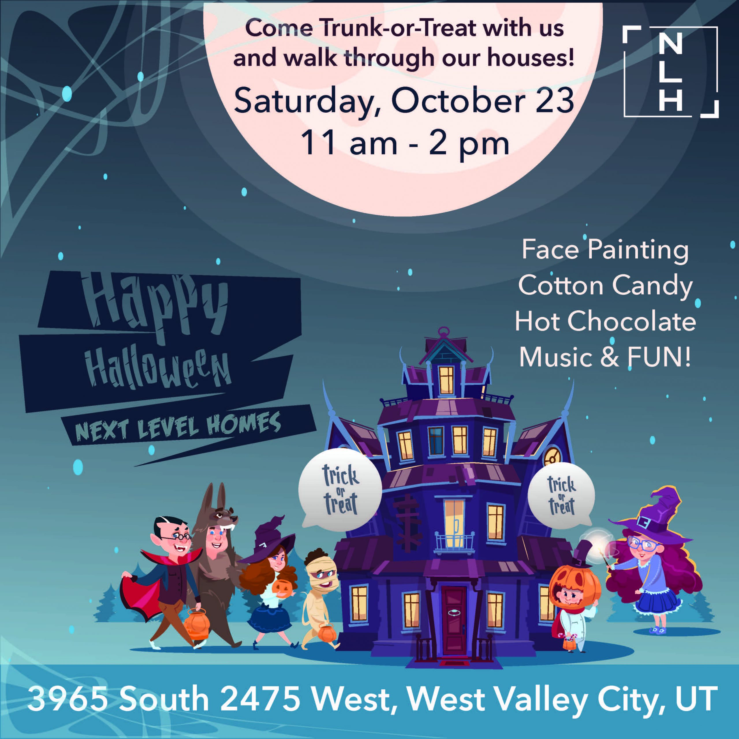 Halloween Social Invite